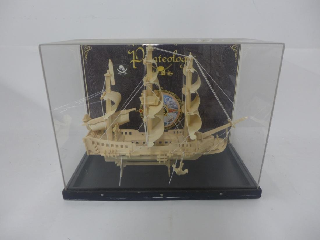 """Pirateology"" The Bold Adventure Wooden cased Ship"