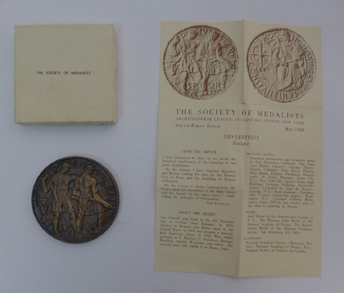 "Society Of Medalists Issue #61 ""Romulus & Remus"