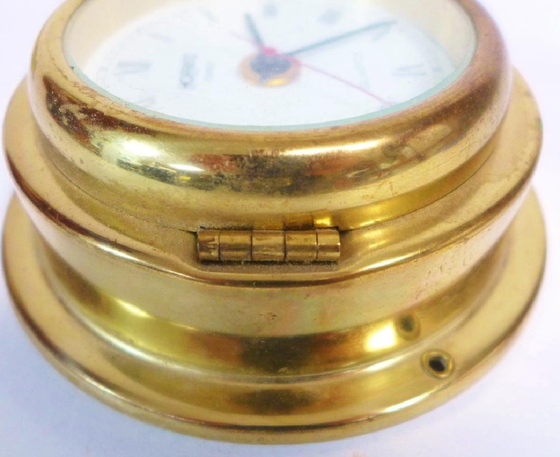 Vintage Hoffritz Ship Clock and Barometer - 2