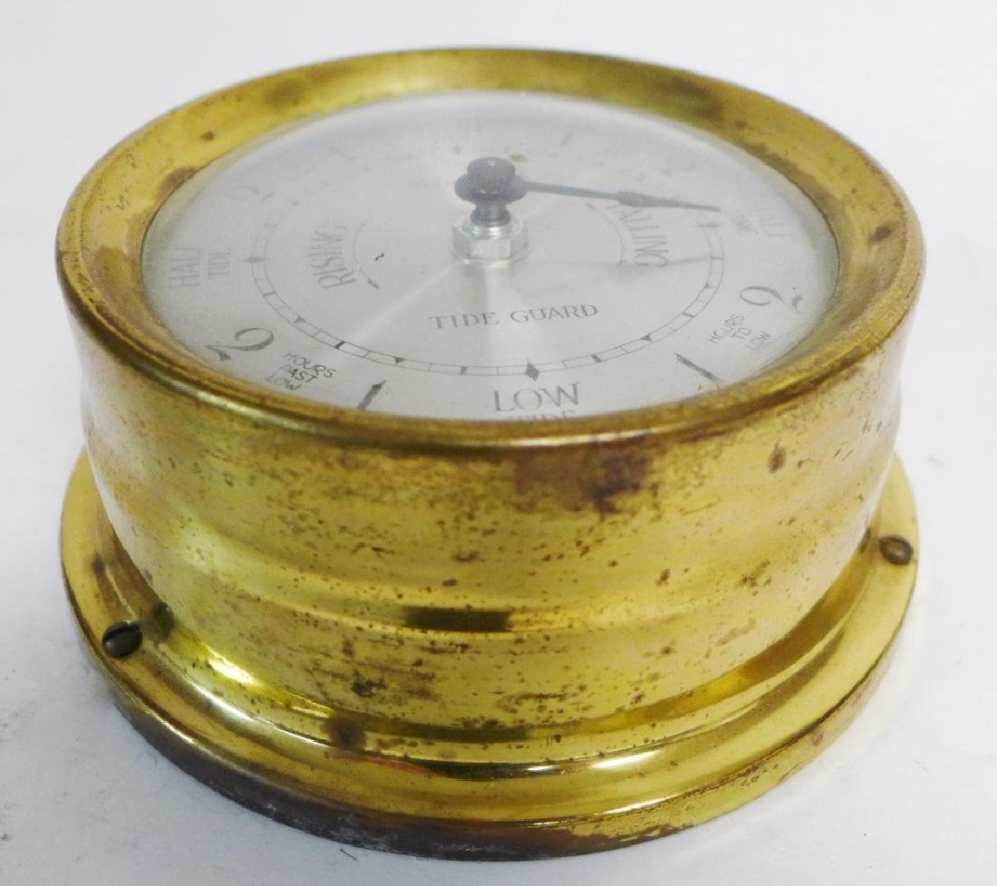 Vintage Brass Seth Thomas Nautical Dials - 3
