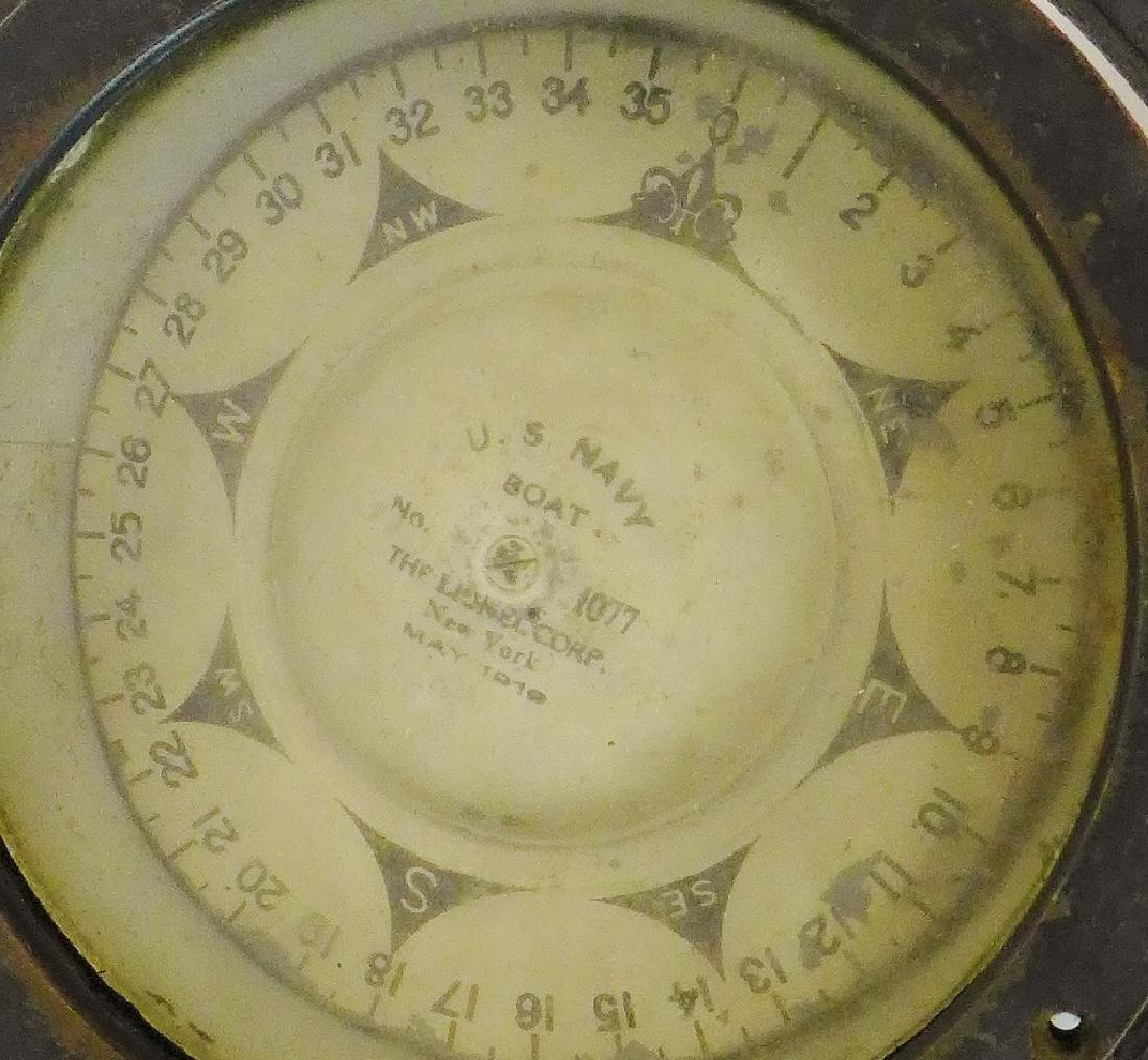 Antique Lionel US Navy Boat Compass 1919 - 6