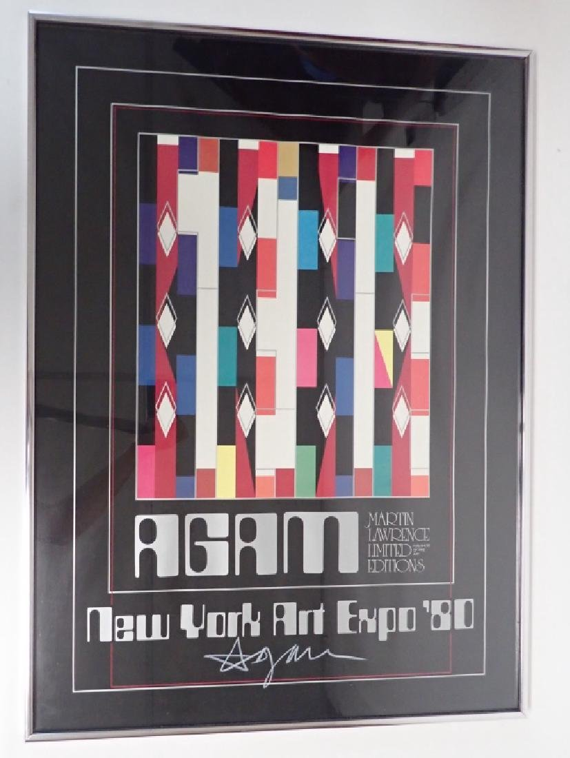 Yaacov Agam - New York Art Expo 1980 - Hand Signed - 6
