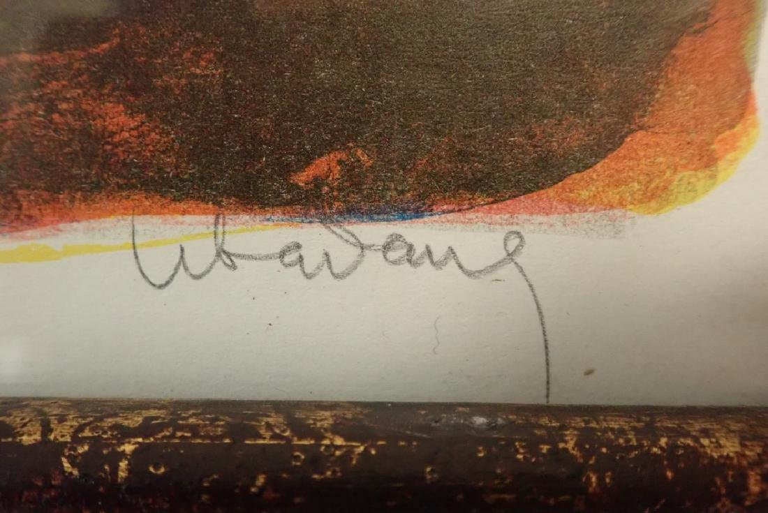 Modern Abstract Print, Pencil Signed Lebadang - 3
