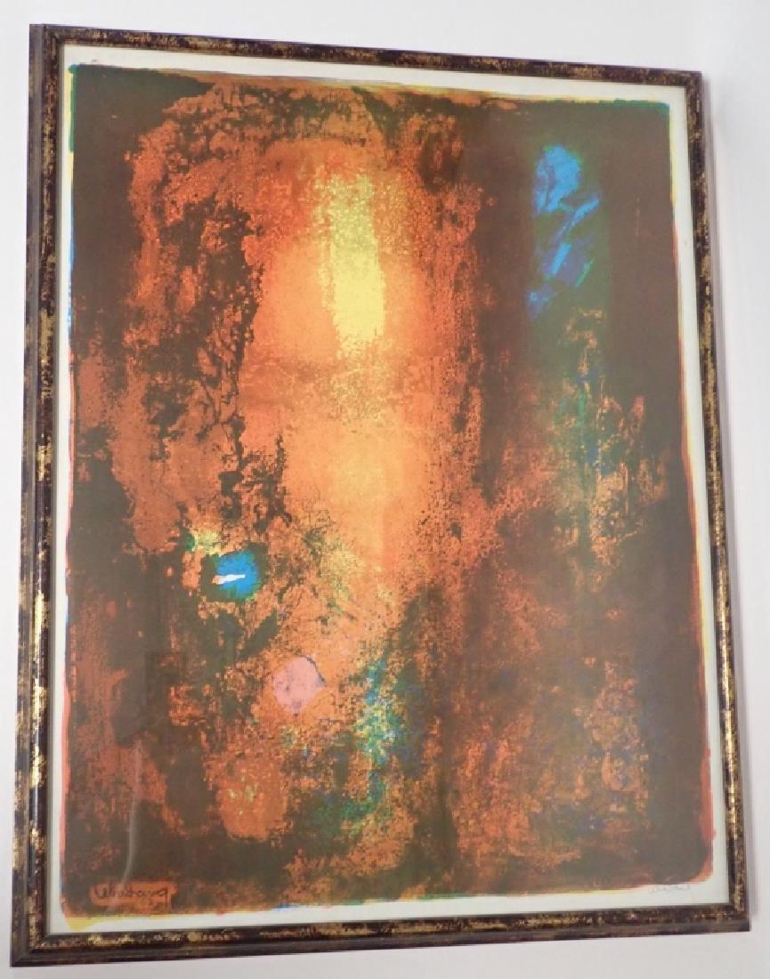 Modern Abstract Print, Pencil Signed Lebadang - 5
