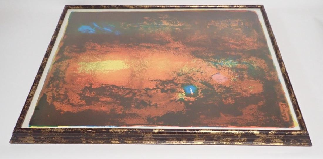 Modern Abstract Print, Pencil Signed Lebadang - 7