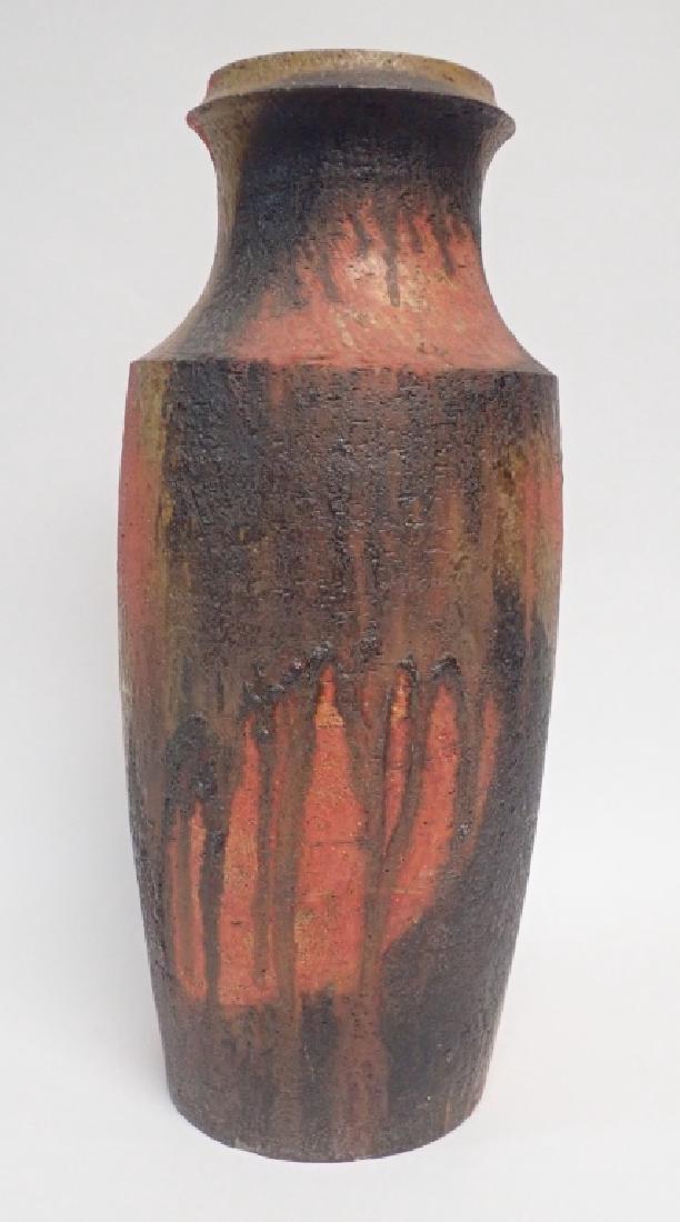 Large Signed Modern Italian Vase - 2