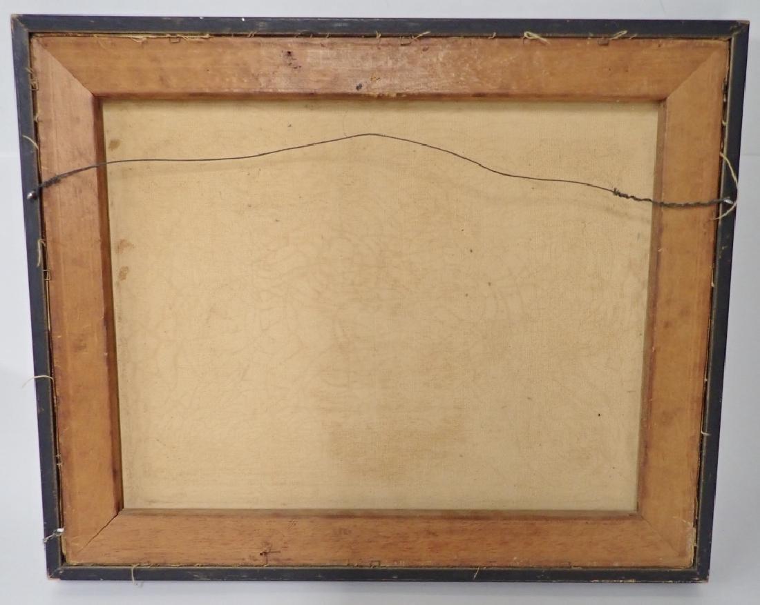 Framed Oil Painting of Jazz Musicians - 8