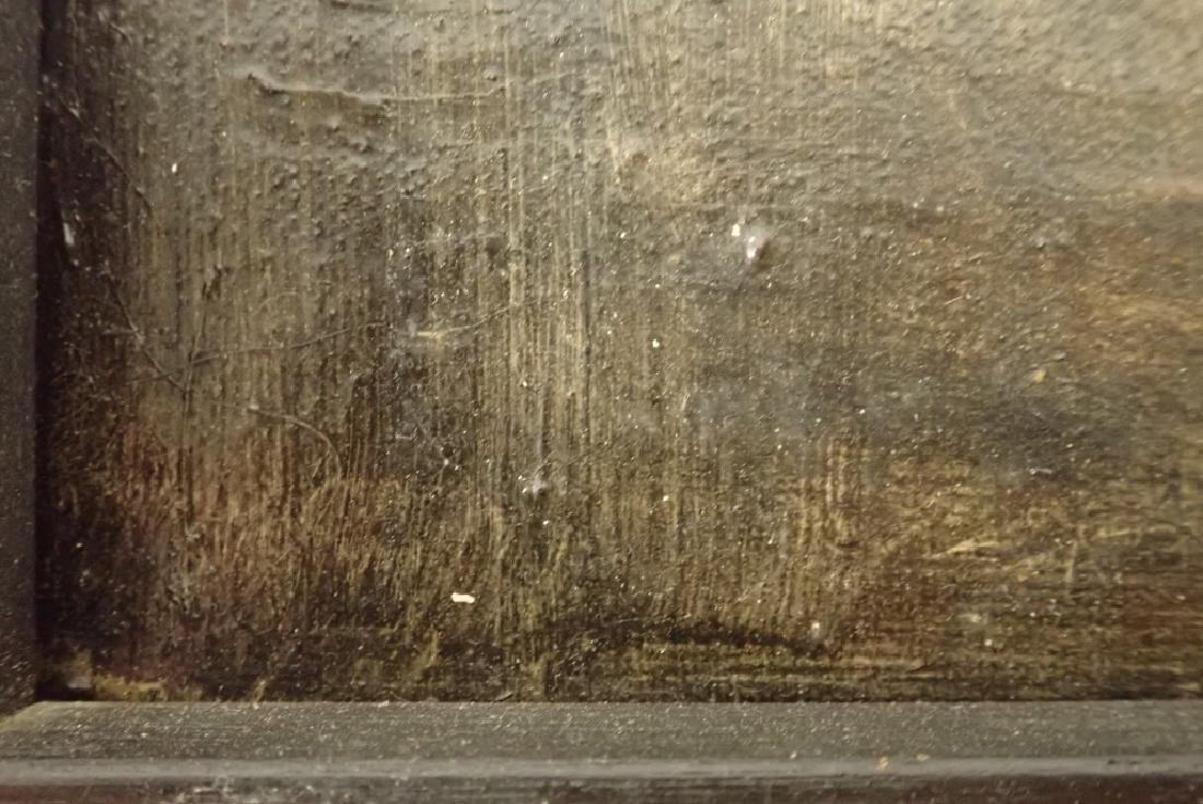 Framed Oil Painting of Jazz Musicians - 9