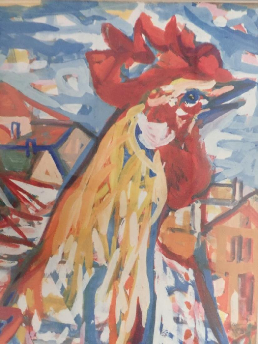 Charles Walch Rooster Print - 7