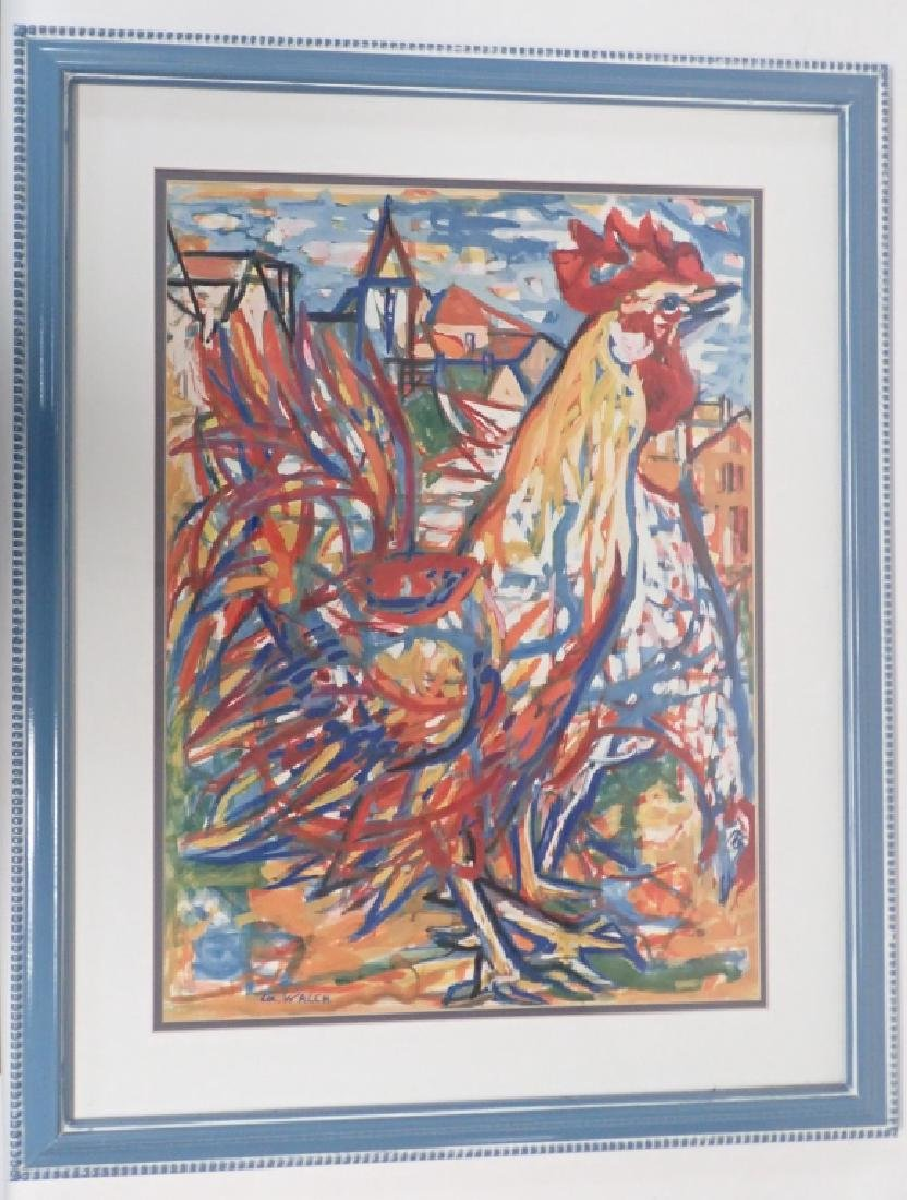 Charles Walch Rooster Print - 8