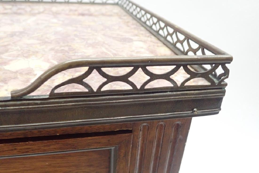Marble Top Side Table - 4