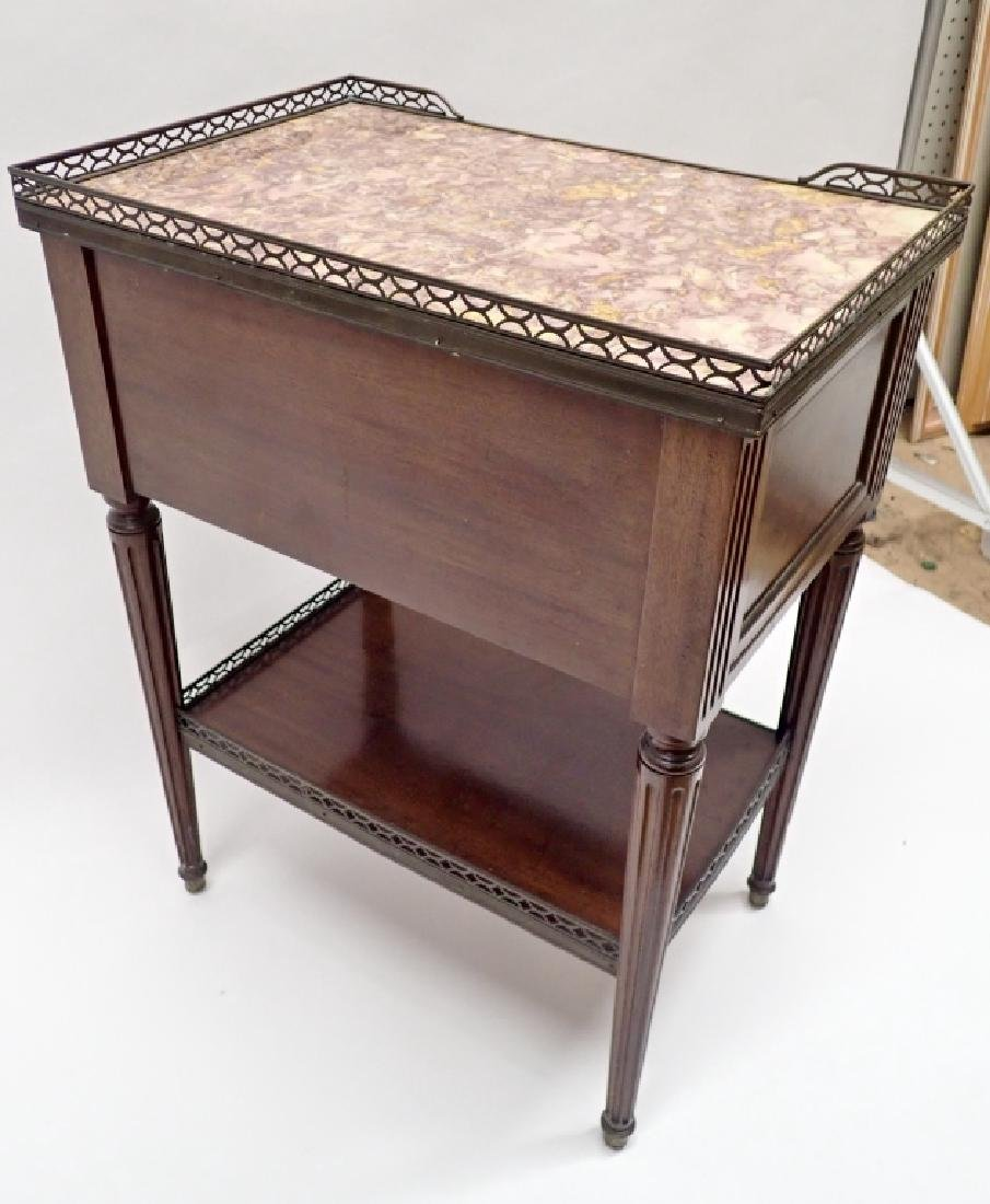 Marble Top Side Table - 9
