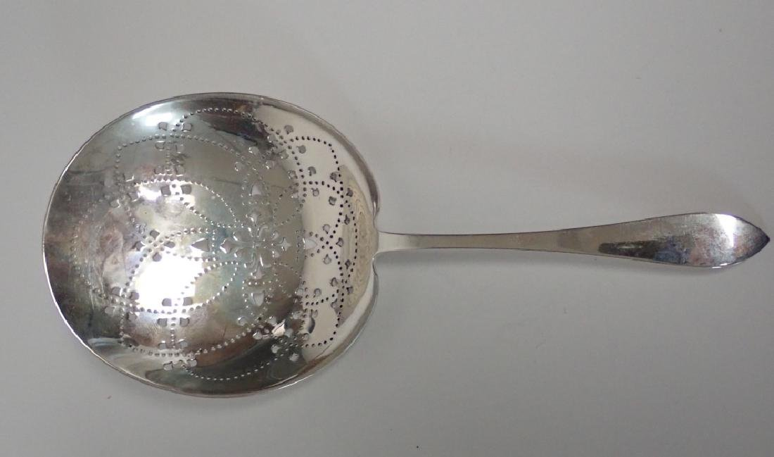 Tiffany & Co Sterling Silver Pierced Chip Server - 7