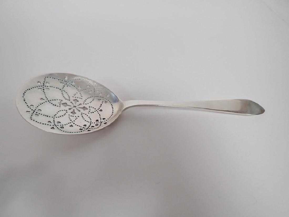 Tiffany & Co Sterling Silver Pierced Serving Spoon - 2