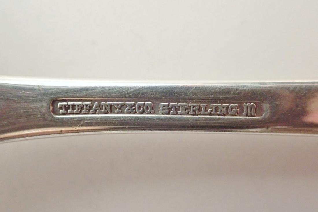 Tiffany & Co Sterling Silver Pierced Serving Spoon - 5