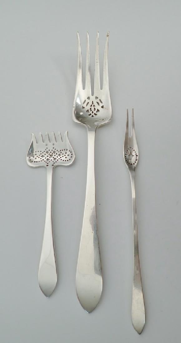 3 pc Tiffany & Co Sterling Silver Serving Forks