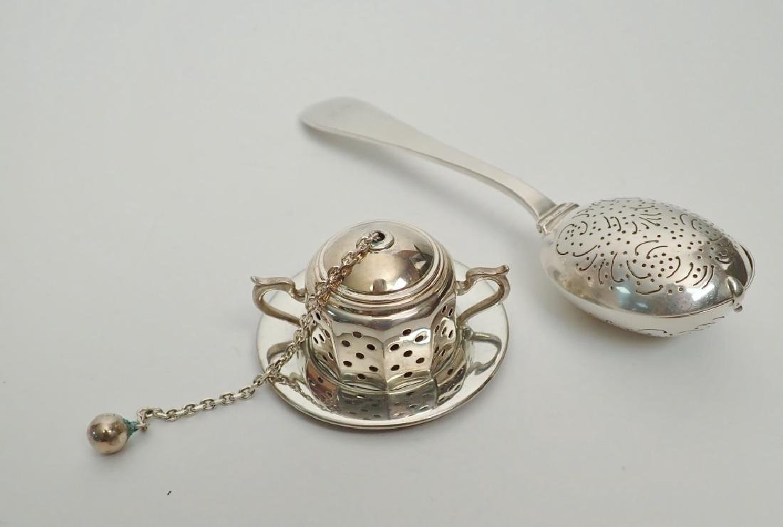 Tiffany & Co. Sterling Silver Tea Infusers