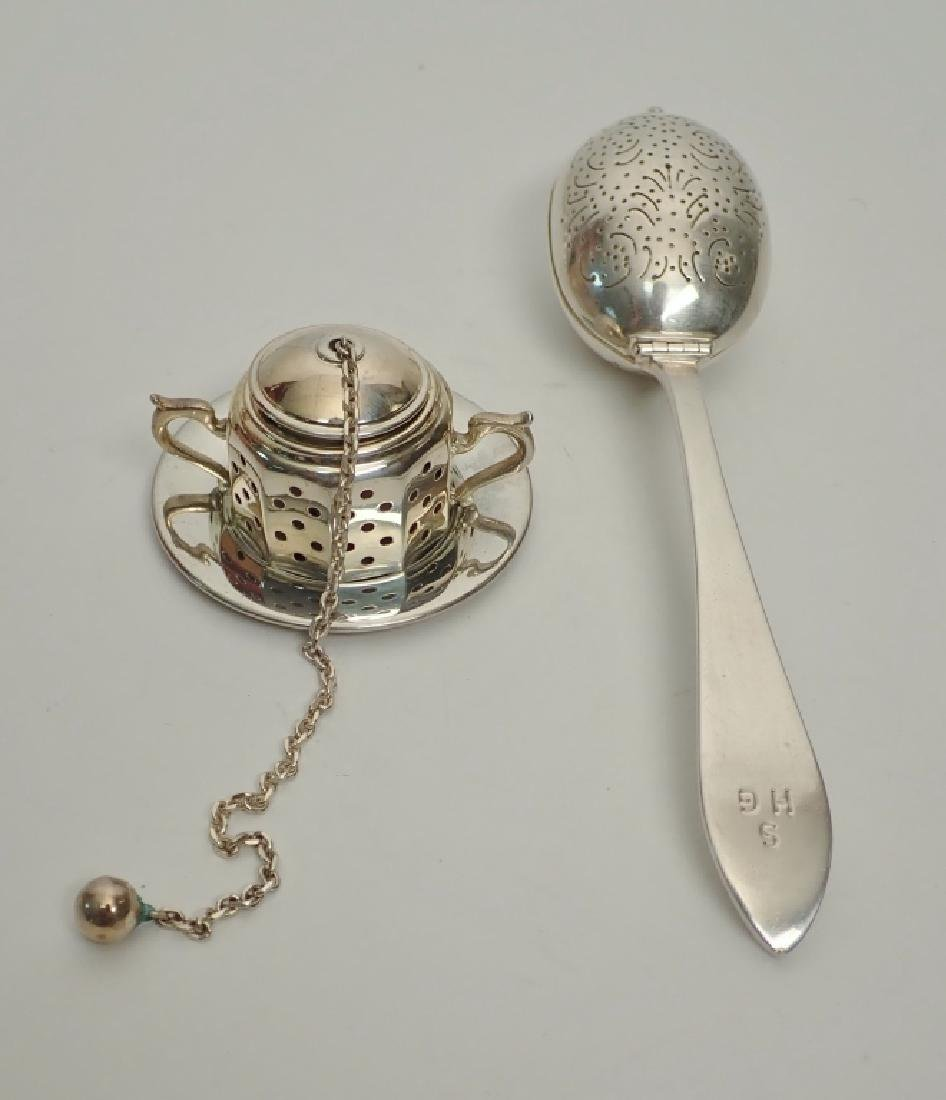Tiffany & Co. Sterling Silver Tea Infusers - 2