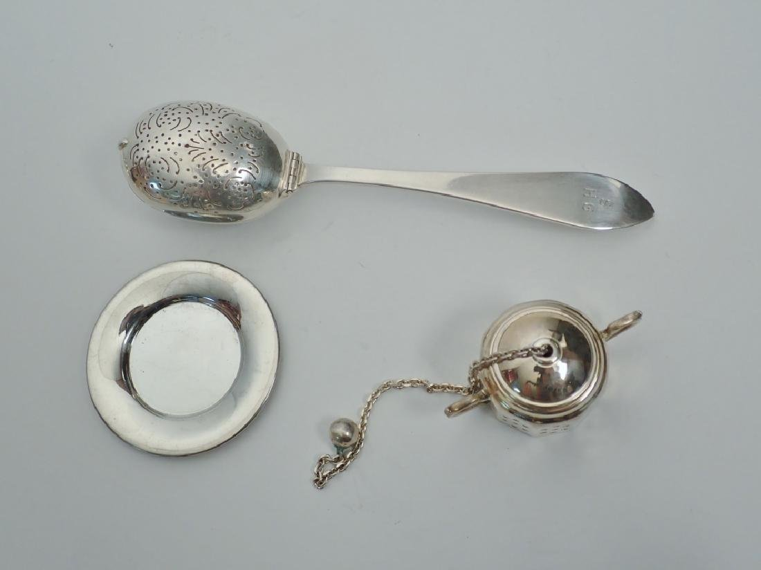 Tiffany & Co. Sterling Silver Tea Infusers - 3