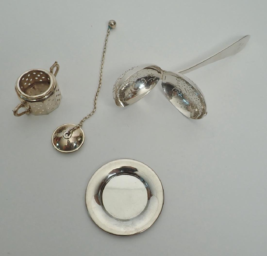 Tiffany & Co. Sterling Silver Tea Infusers - 4