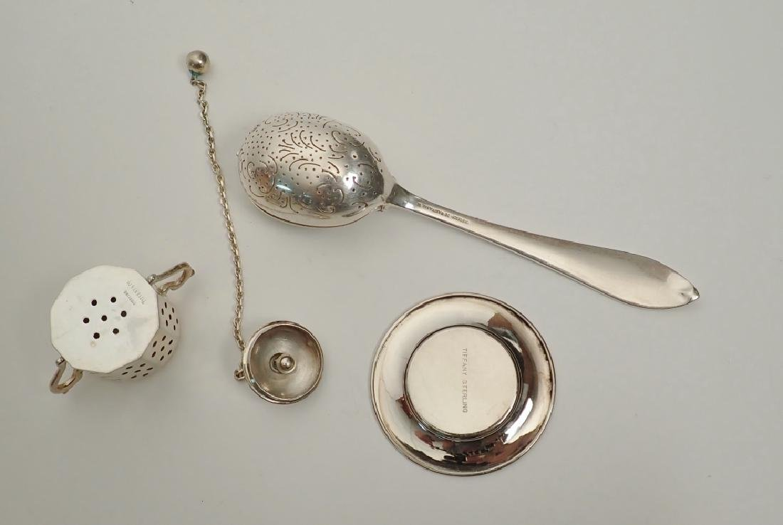 Tiffany & Co. Sterling Silver Tea Infusers - 5