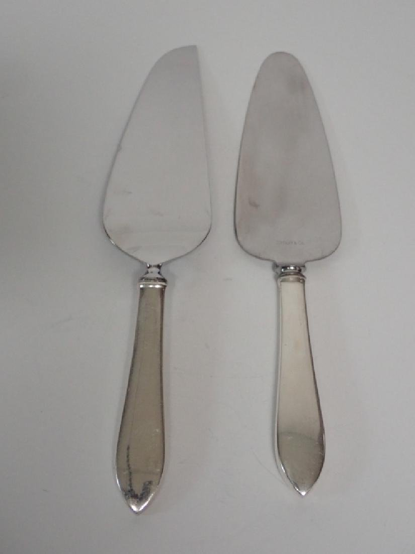 Two Tiffany Sterling Silver Pie Servers - 9