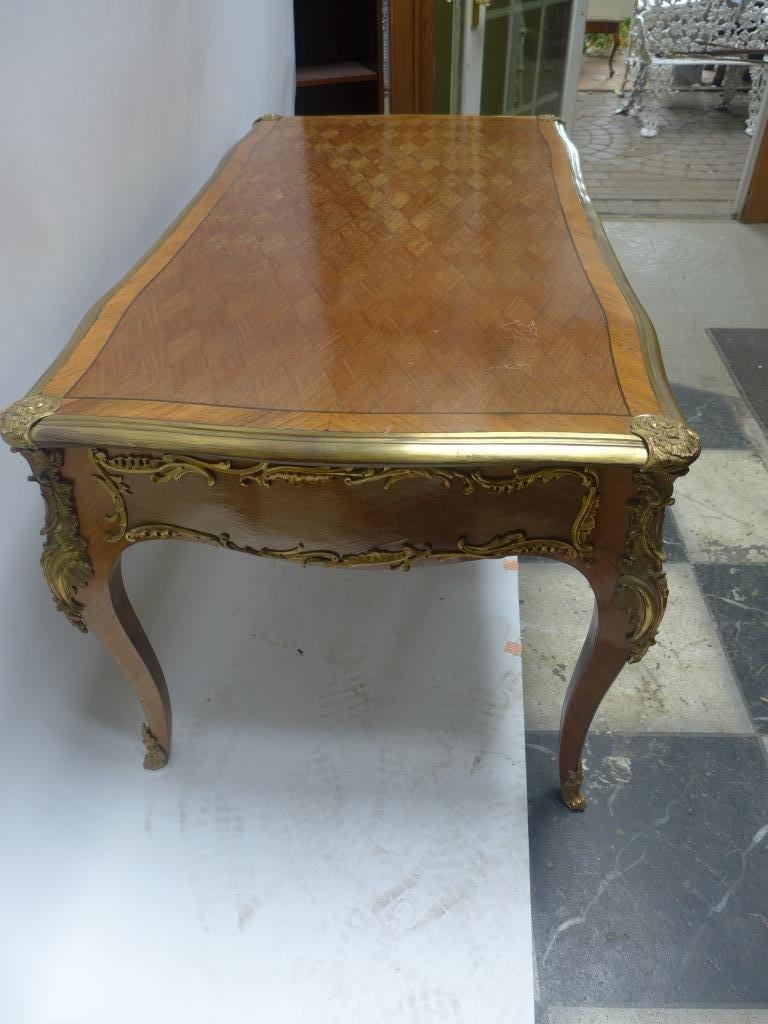 Louis XVI Style Bureau Plat Writing Desk - 6