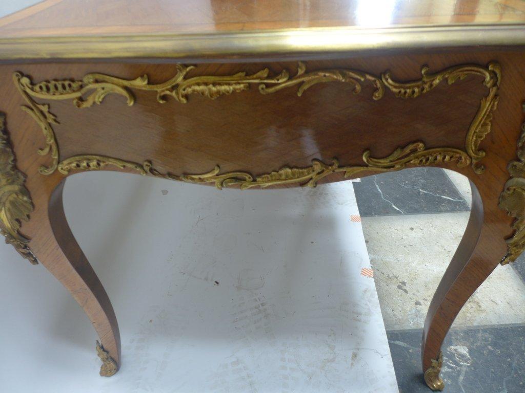 Louis XVI Style Bureau Plat Writing Desk - 7