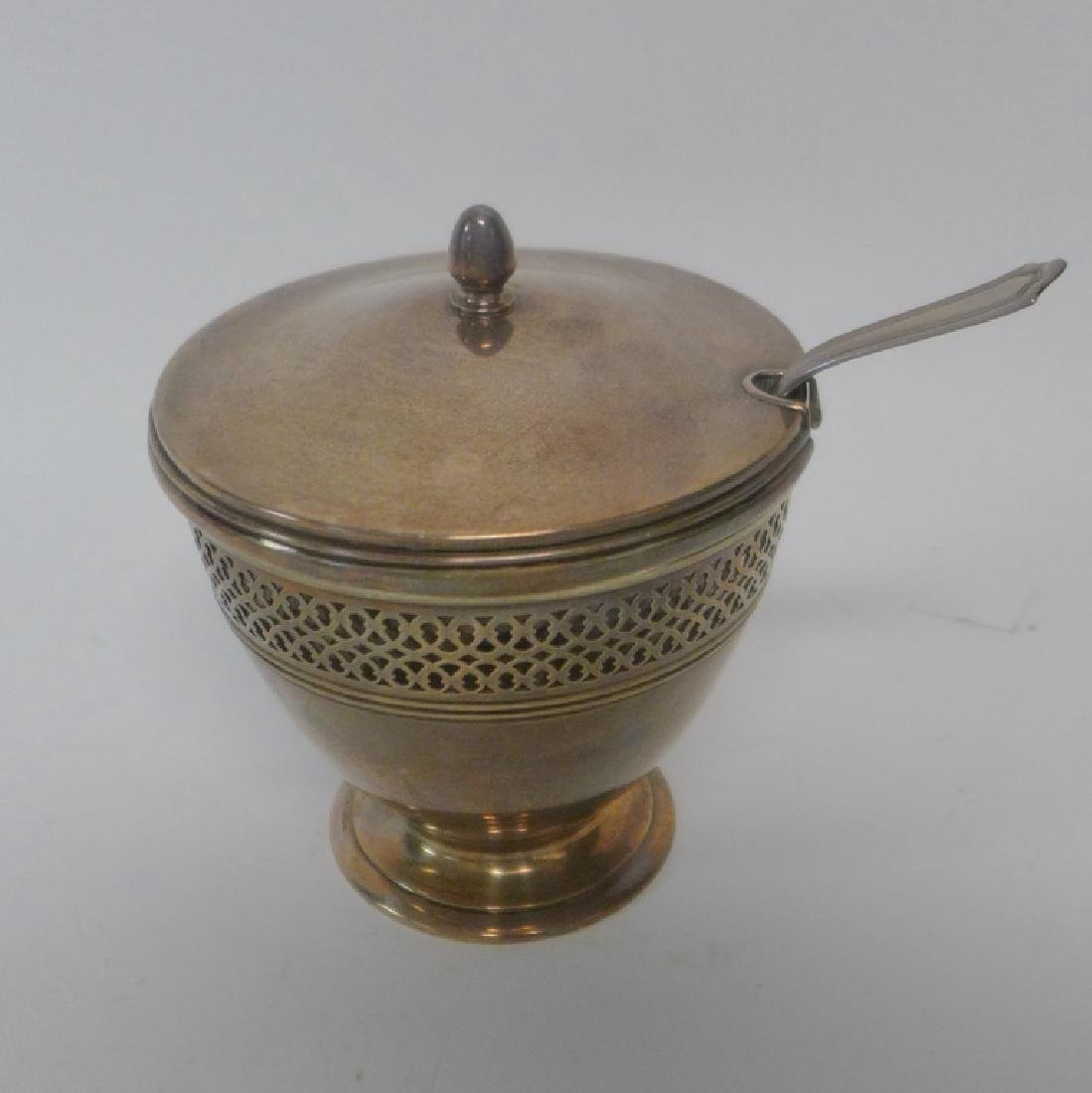 Tiffany & Co Sterling Silver Covered Sugar Bowl - 10
