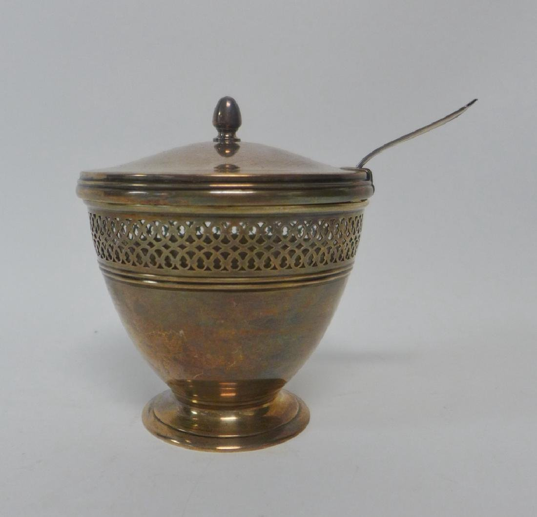 Tiffany & Co Sterling Silver Covered Sugar Bowl