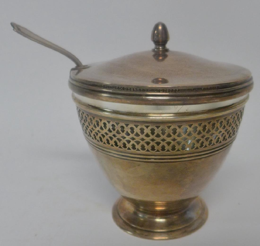 Tiffany & Co Sterling Silver Covered Sugar Bowl - 5