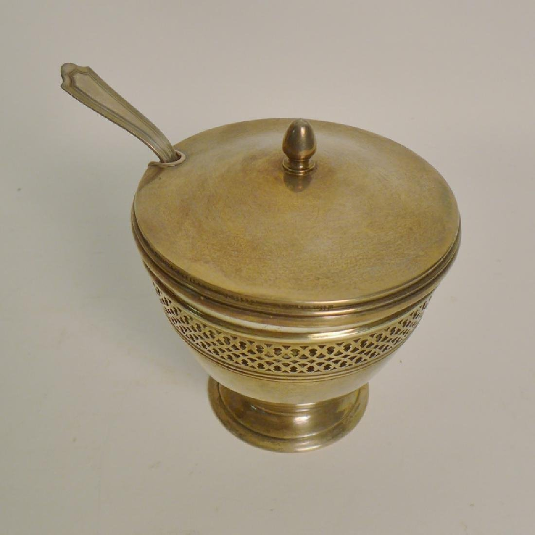 Tiffany & Co Sterling Silver Covered Sugar Bowl - 9