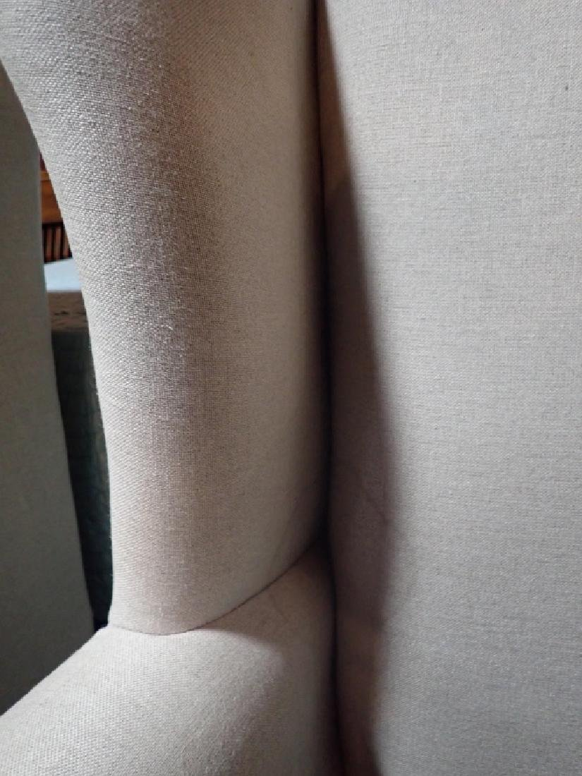 Pair Upholstered Arm Chairs - 4