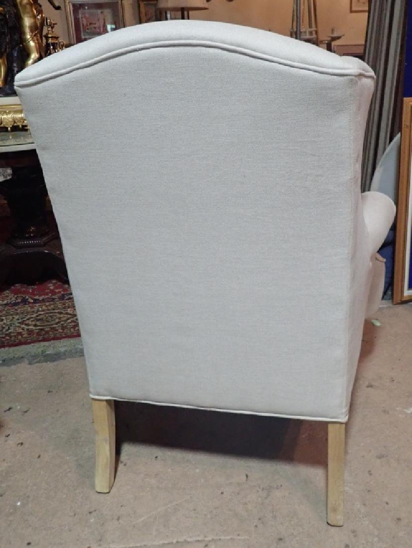 Pair Upholstered Arm Chairs - 8