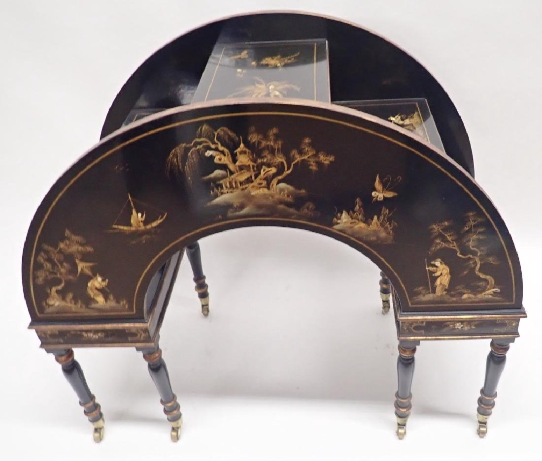 Chinoiserie What-Not Table - 5