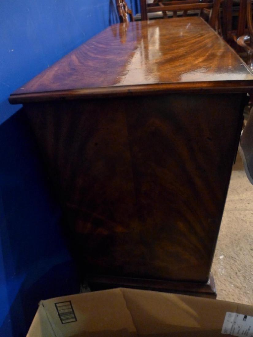 Mahogany 4 Row Dresser - 5