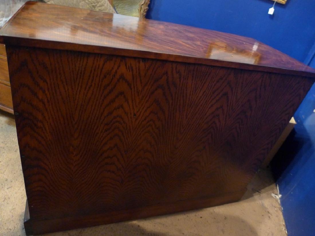 Mahogany 4 Row Dresser - 8