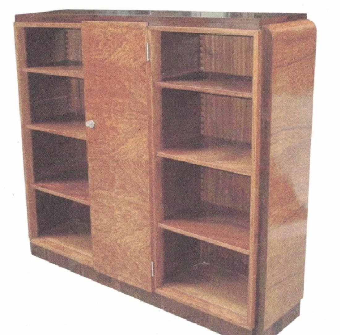 Mid-Century French Handcrafted Bookcase