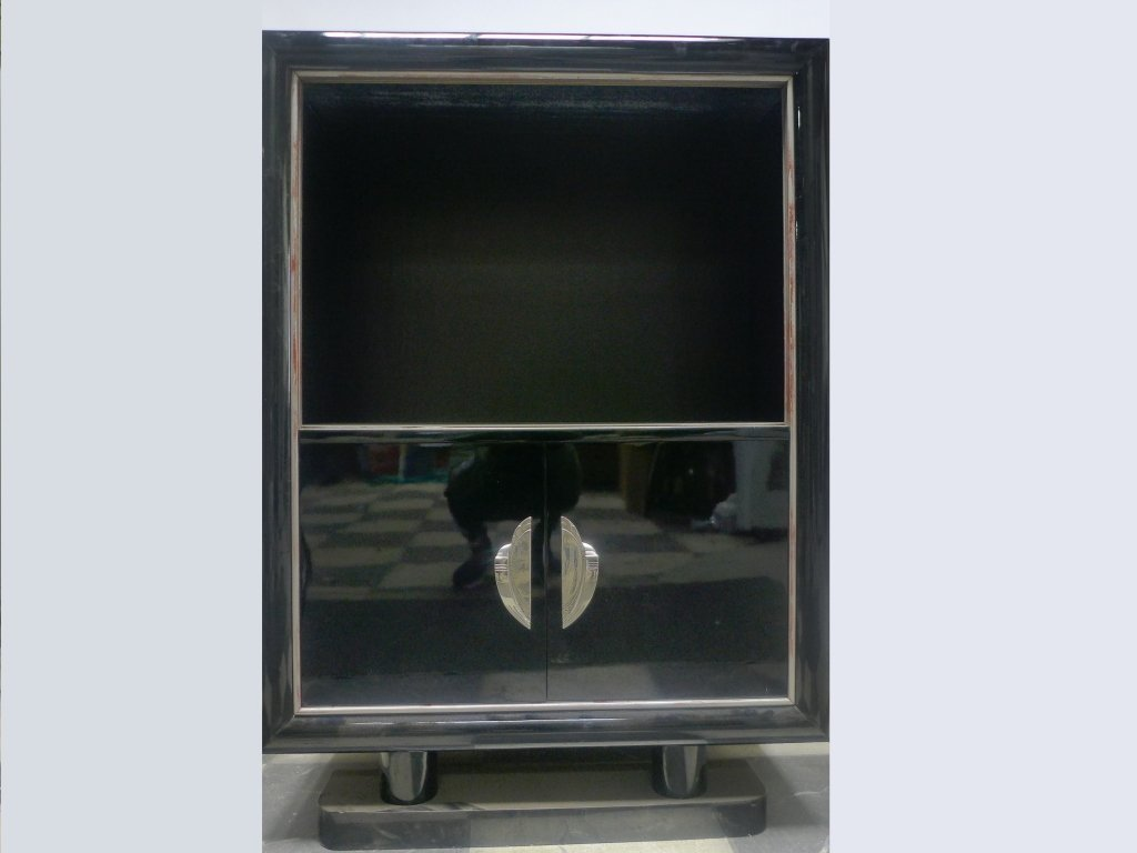 French Art Deco Bar Cabinet - 5