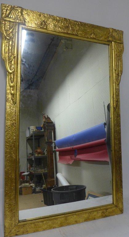 Art Deco Gold Gilt Mirror