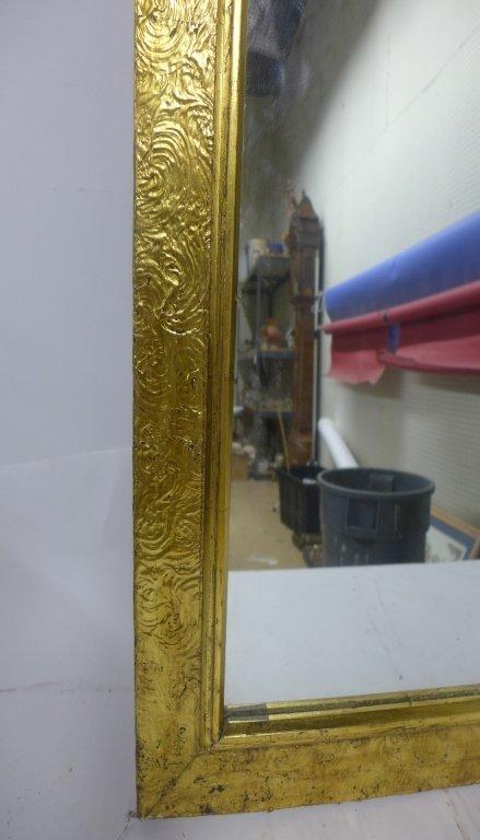 Art Deco Gold Gilt Mirror - 3