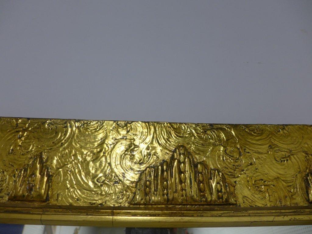 Art Deco Gold Gilt Mirror - 4