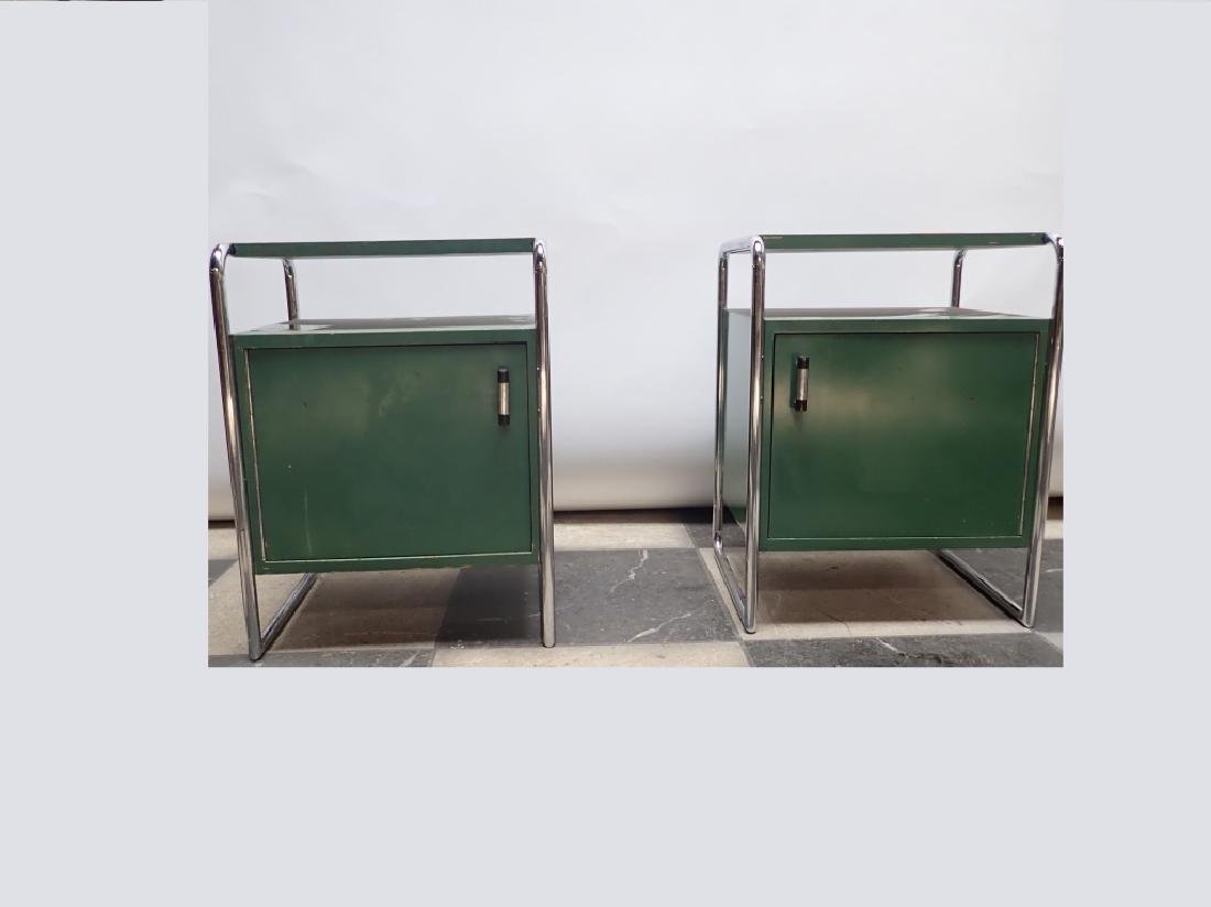 Pair Of Mid-Century Side Tables