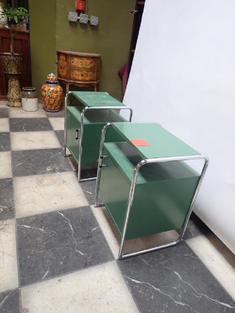 Pair Of Mid-Century Side Tables - 5