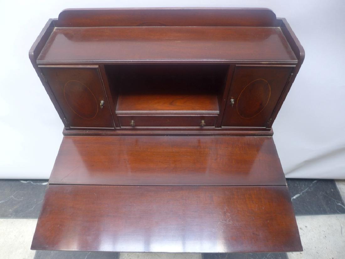 Brandt Cabinet Works Mahogany Secretary Desk - 10