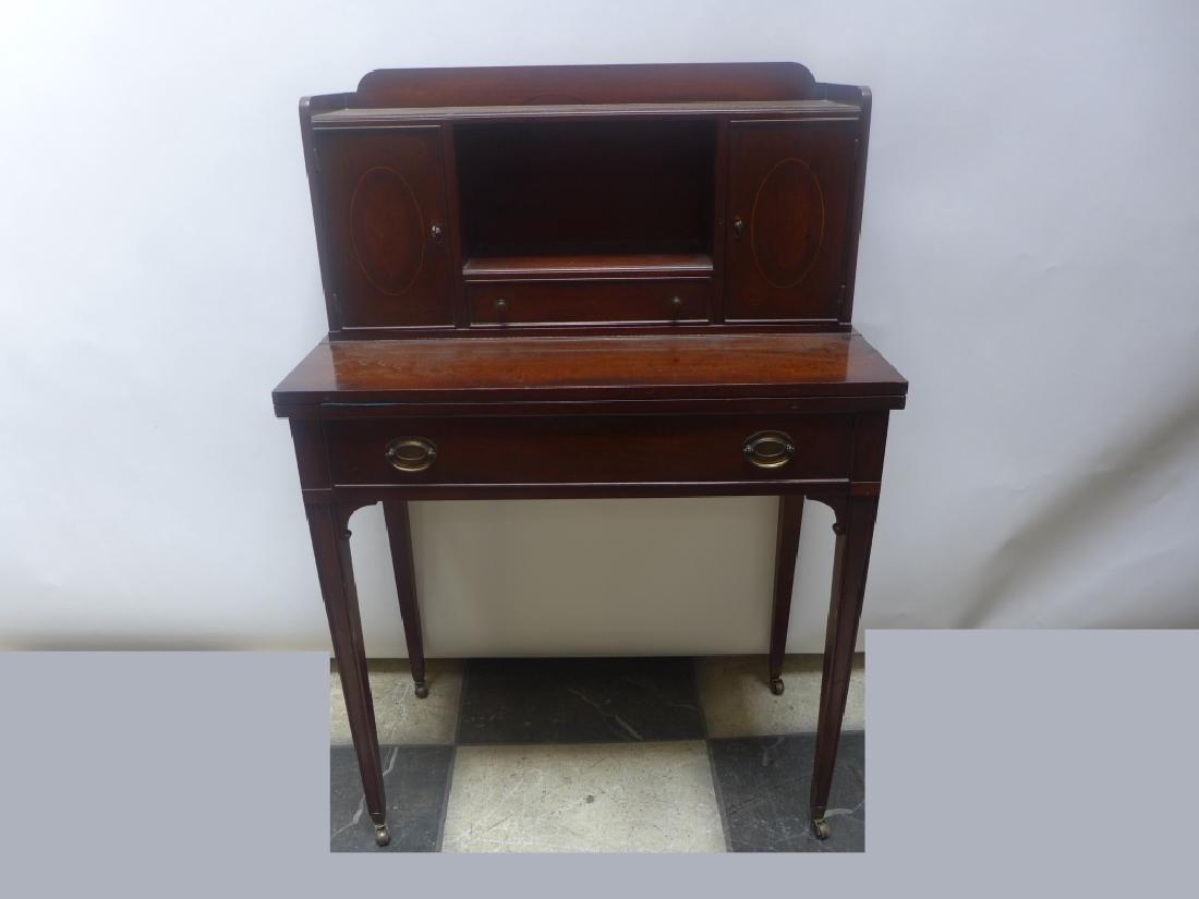 Brandt Cabinet Works Mahogany Secretary Desk