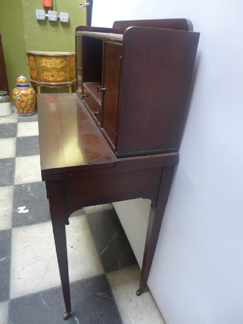 Brandt Cabinet Works Mahogany Secretary Desk - 3