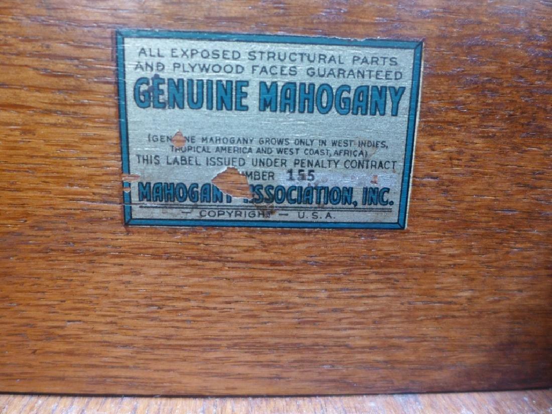 Brandt Cabinet Works Mahogany Secretary Desk - 7