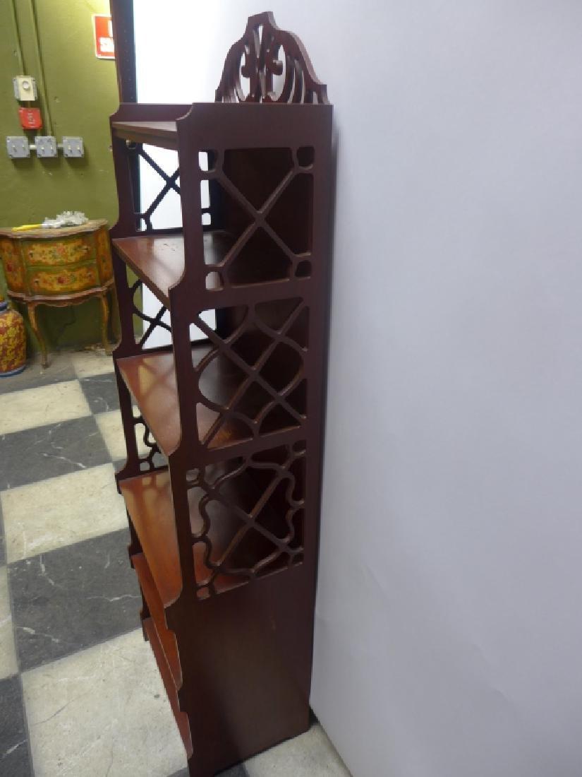 Mahogany Bookcase - 4