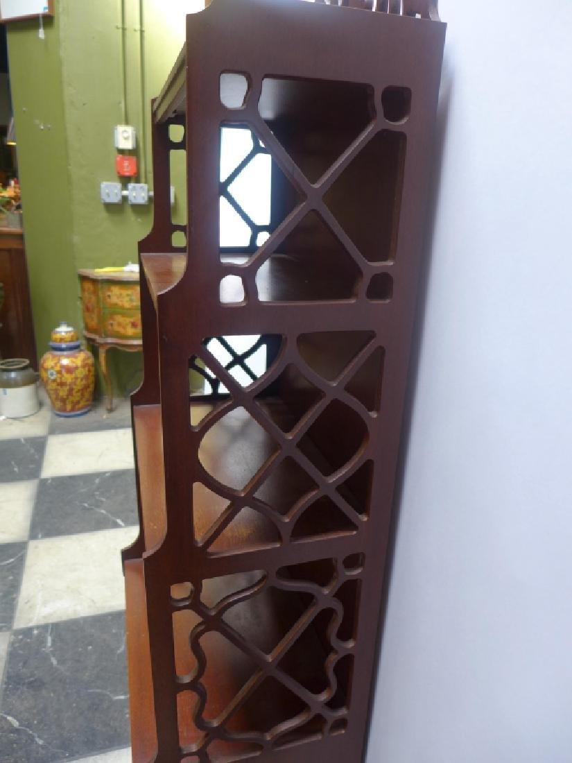 Mahogany Bookcase - 5